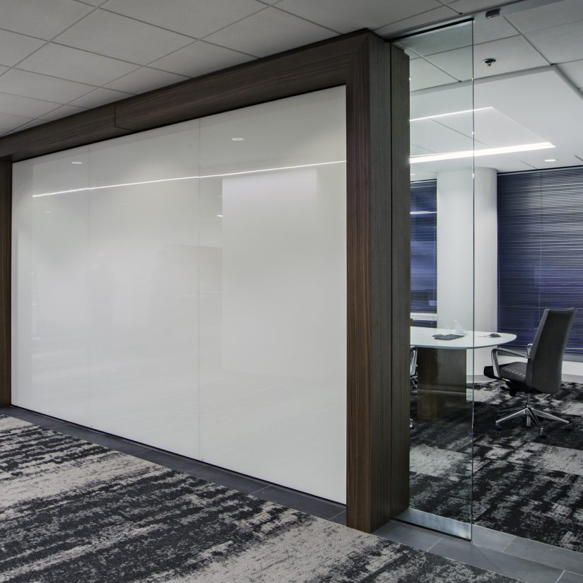 Full Size Back Painted Glass Wall