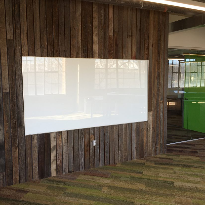 Glass Board On Wood